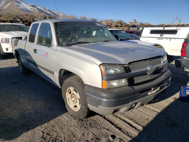Salvage cars for sale from Copart Reno, NV: 2003 Chevrolet Silverado