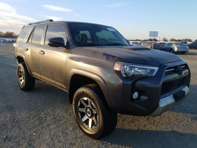 Salvage cars for sale at Antelope, CA auction: 2020 Toyota 4runner SR