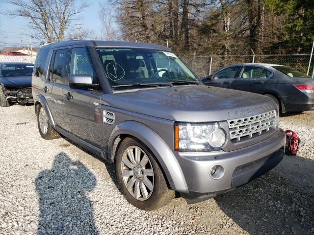 Land Rover salvage cars for sale: 2012 Land Rover LR4 HSE LU