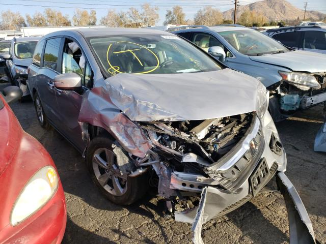 Salvage cars for sale from Copart Colton, CA: 2020 Honda Odyssey EX