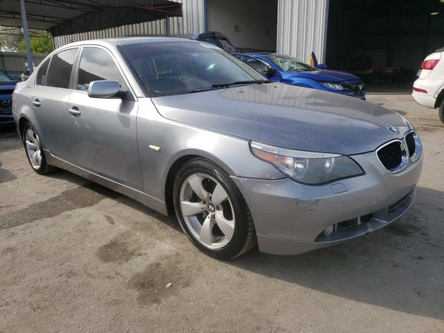 Salvage cars for sale from Copart Orlando, FL: 2007 BMW 525 I