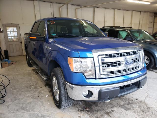 Salvage cars for sale at Madisonville, TN auction: 2014 Ford F150 Super