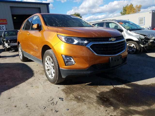 Salvage cars for sale from Copart Duryea, PA: 2018 Chevrolet Equinox LT