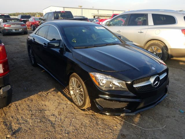 Salvage cars for sale from Copart Mercedes, TX: 2016 Mercedes-Benz CLA 250