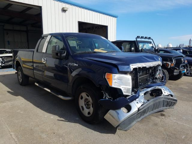 Salvage cars for sale from Copart New Orleans, LA: 2009 Ford F150 Super