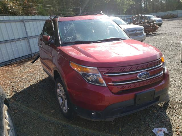 Salvage cars for sale from Copart Shreveport, LA: 2015 Ford Explorer L
