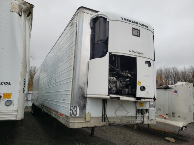 Wabash salvage cars for sale: 2007 Wabash Reefer