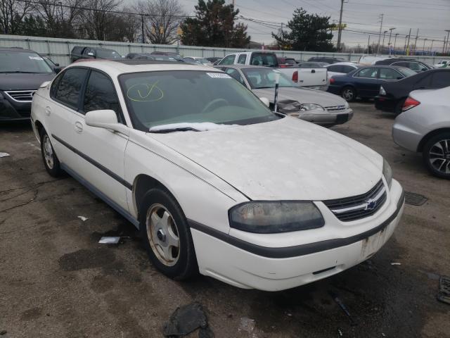 Vehiculos salvage en venta de Copart Moraine, OH: 2004 Chevrolet Impala