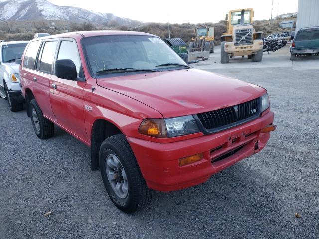 Salvage cars for sale from Copart Reno, NV: 1998 Mitsubishi Montero SP