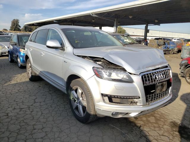 Salvage cars for sale from Copart Hayward, CA: 2015 Audi Q7 Premium