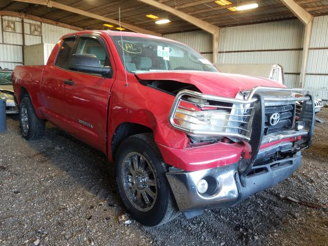 Salvage cars for sale from Copart Houston, TX: 2008 Toyota Tundra DOU