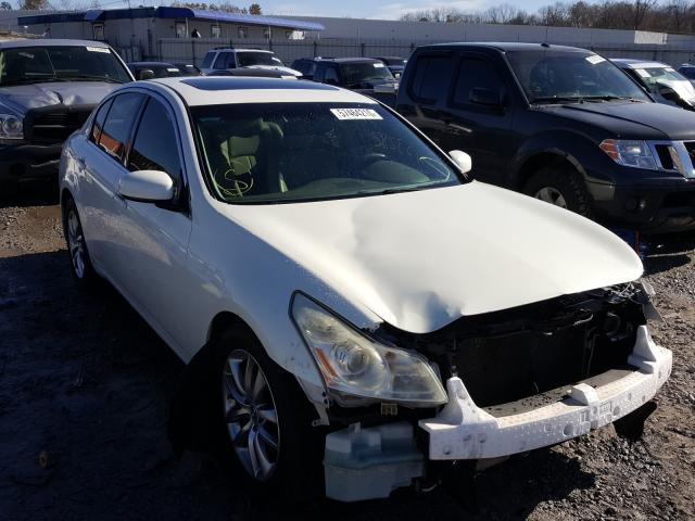 Salvage cars for sale from Copart Hueytown, AL: 2008 Infiniti G35
