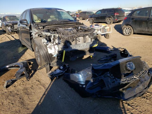Salvage cars for sale from Copart Brighton, CO: 2019 Mazda CX-5 Touring