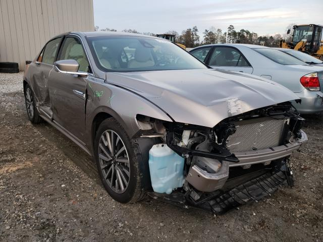 Lincoln salvage cars for sale: 2020 Lincoln Continental