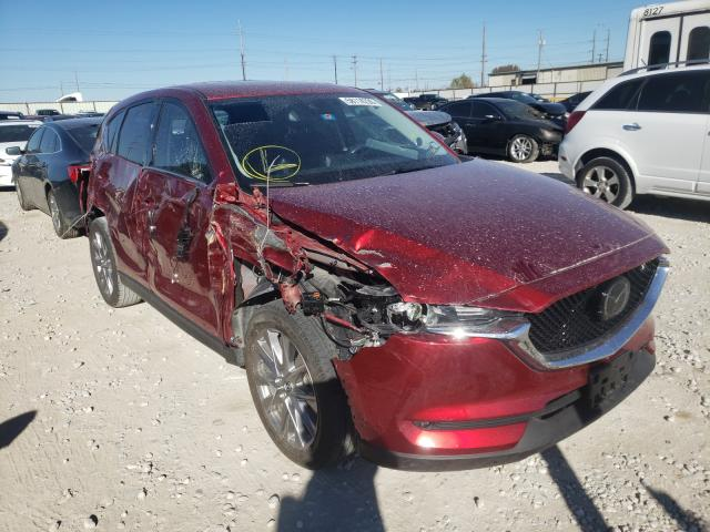 Salvage cars for sale from Copart Haslet, TX: 2019 Mazda CX-5 Grand Touring