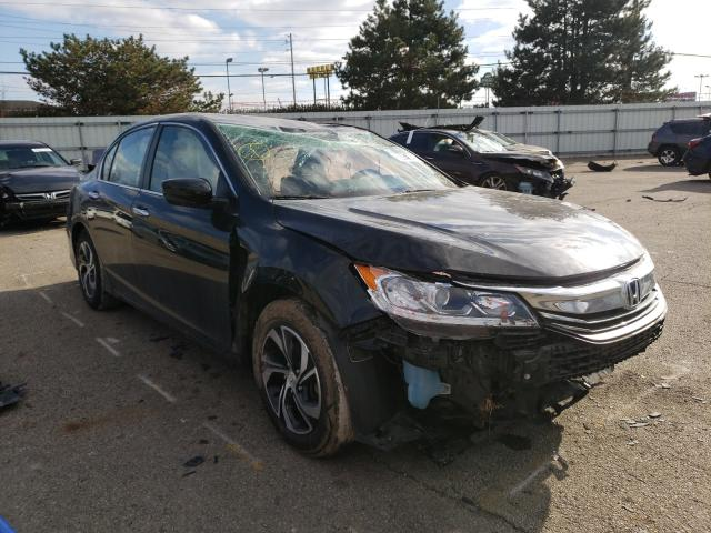 Salvage cars for sale from Copart Moraine, OH: 2017 Honda Accord LX