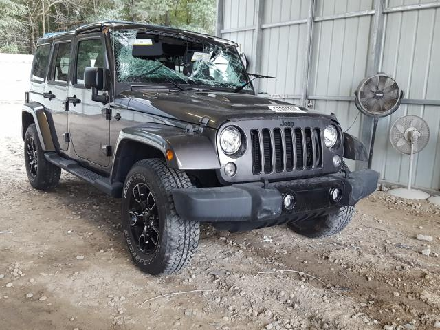 Salvage cars for sale from Copart Midway, FL: 2018 Jeep Wrangler U