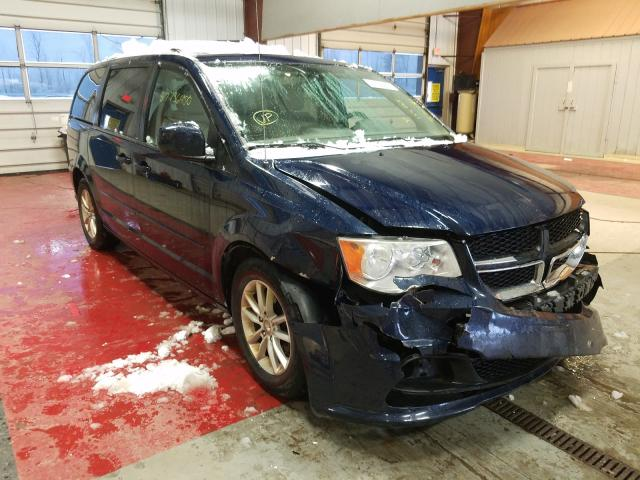 Salvage cars for sale from Copart Angola, NY: 2013 Dodge Grand Caravan