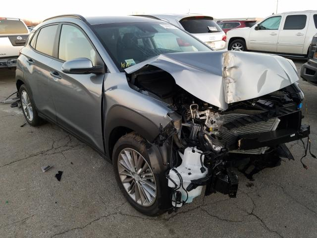 Salvage cars for sale from Copart Chicago Heights, IL: 2021 Hyundai Kona SEL P