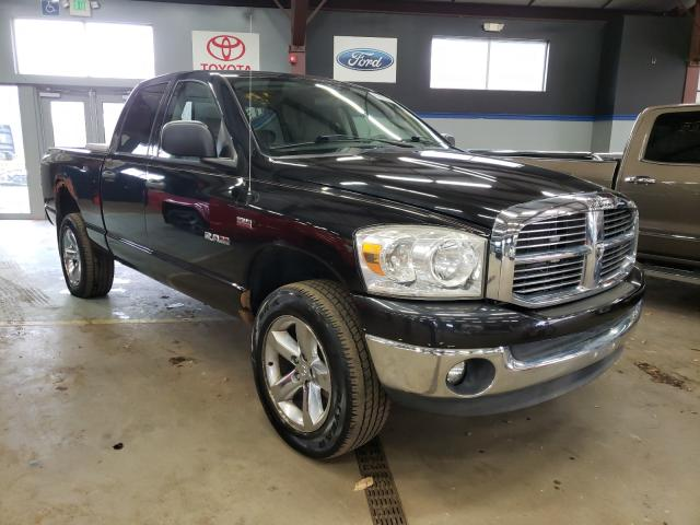 Salvage cars for sale from Copart East Granby, CT: 2008 Dodge RAM 1500 S