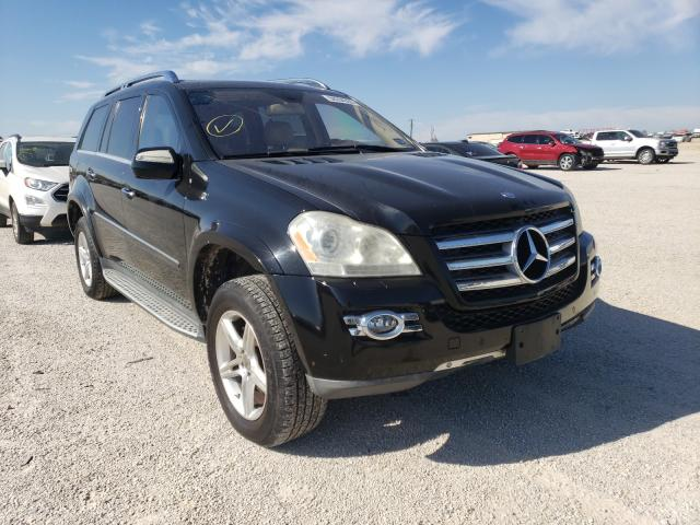 Salvage cars for sale from Copart San Antonio, TX: 2009 Mercedes-Benz GL 550 4matic