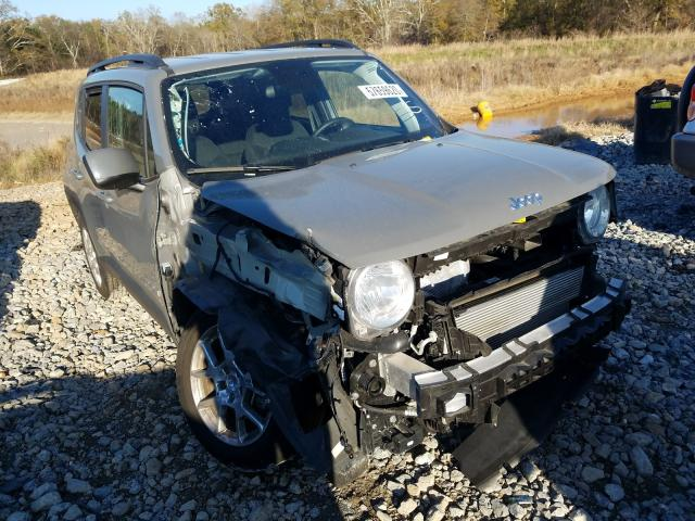 Salvage cars for sale at Cartersville, GA auction: 2019 Jeep Renegade L