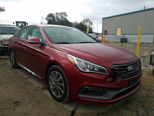 2016 Hyundai Sonata Sport for sale in Loganville, GA