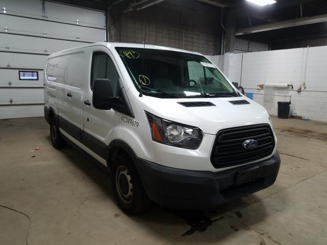 Salvage cars for sale from Copart Blaine, MN: 2019 Ford Transit T