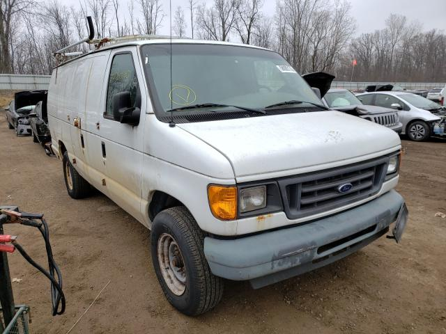 Salvage cars for sale from Copart Davison, MI: 2006 Ford Econoline