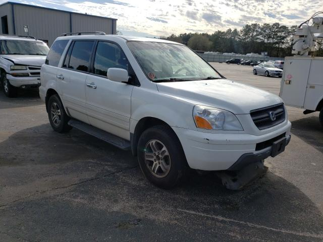Salvage cars for sale from Copart Lufkin, TX: 2004 Honda Pilot EXL