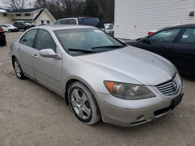 Salvage cars for sale from Copart Northfield, OH: 2005 Acura RL