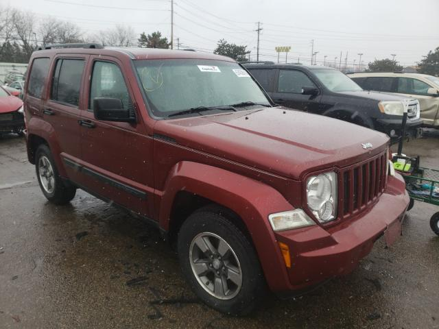 Salvage cars for sale from Copart Moraine, OH: 2008 Jeep Liberty SP