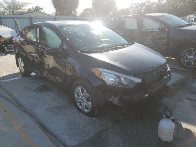 Salvage cars for sale from Copart Punta Gorda, FL: 2016 KIA Forte LX