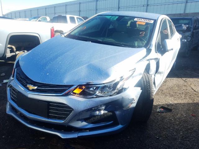 из сша 2017 Chevrolet Cruze Ls 1.4L 1G1BC5SM9H7235733
