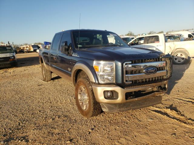 Salvage cars for sale from Copart San Antonio, TX: 2014 Ford F350 Super