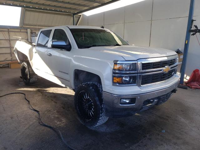 Salvage cars for sale from Copart Anthony, TX: 2014 Chevrolet Silverado