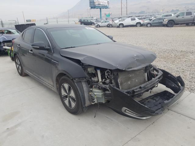 Vehiculos salvage en venta de Copart Farr West, UT: 2012 KIA Optima Hybrid