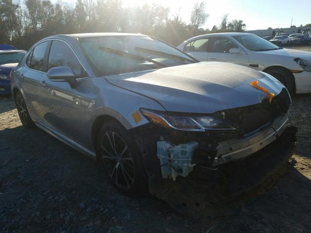 Salvage cars for sale from Copart Tifton, GA: 2018 Toyota Camry L