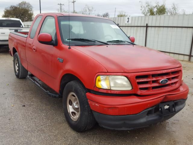 Salvage cars for sale from Copart San Antonio, TX: 2001 Ford F150