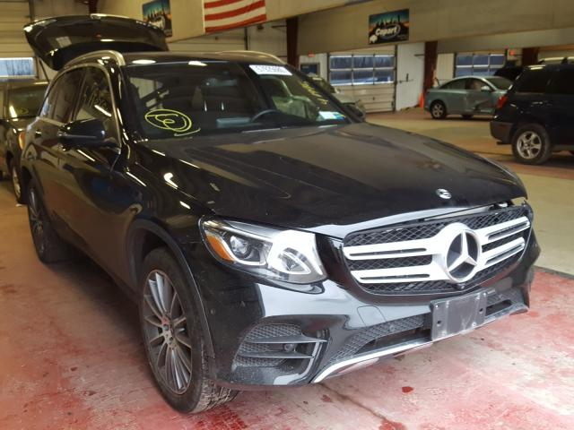 Salvage cars for sale from Copart Angola, NY: 2018 Mercedes-Benz GLC 300 4M
