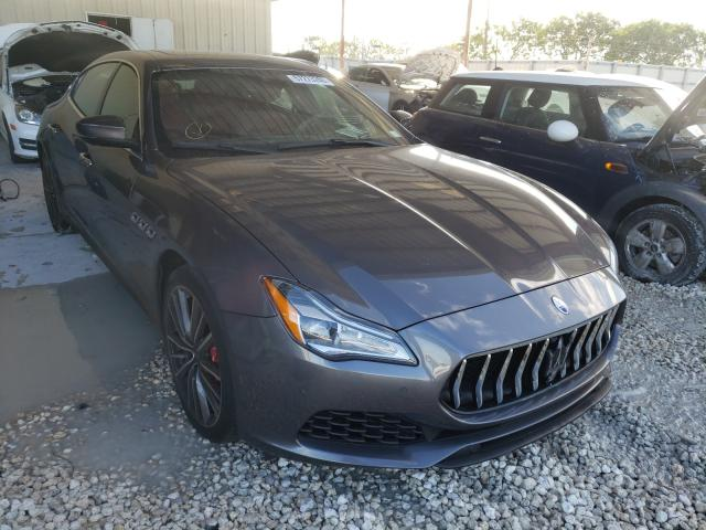 Maserati Quattropor salvage cars for sale: 2019 Maserati Quattropor