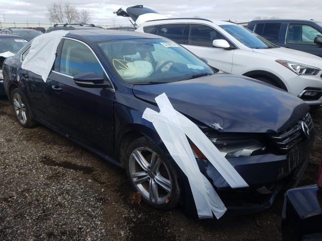 Salvage cars for sale from Copart Portland, MI: 2012 Volkswagen Passat SE