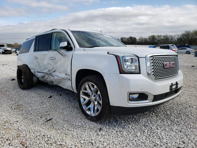 Salvage cars for sale from Copart New Braunfels, TX: 2016 GMC Yukon XL D
