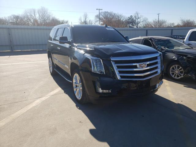 Salvage cars for sale from Copart Wilmer, TX: 2019 Cadillac Escalade L