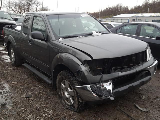 Salvage cars for sale from Copart West Mifflin, PA: 2007 Nissan Frontier K