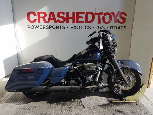 Salvage cars for sale from Copart Kansas City, KS: 2019 Harley-Davidson Flhxs