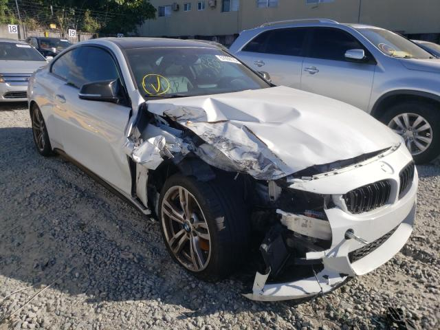Salvage cars for sale from Copart Opa Locka, FL: 2014 BMW 428 I