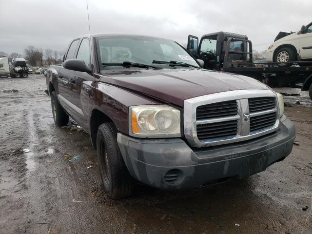 Salvage cars for sale from Copart Hillsborough, NJ: 2005 Dodge Dakota Quattro