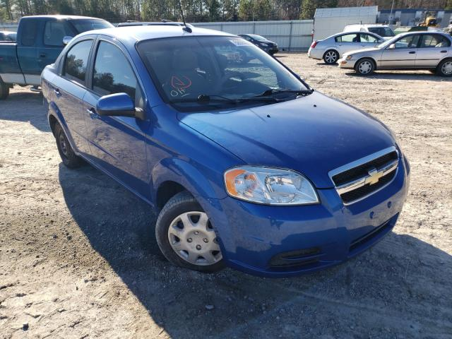 Salvage cars for sale from Copart Charles City, VA: 2010 Chevrolet Aveo LS