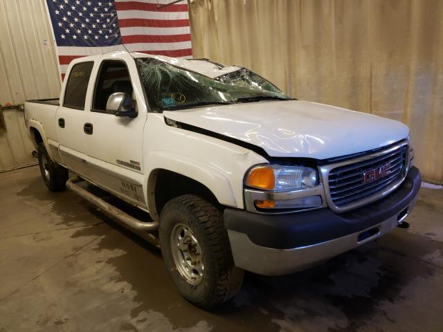GMC salvage cars for sale: 2002 GMC Sierra K25